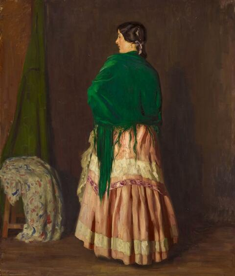 Arthur Kampf - GYPSY WOMAN
