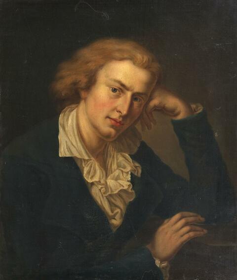 Anton Graff, nach - BILDNIS FRIEDRICH SCHILLER