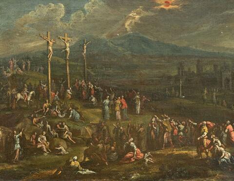 Süddeutscher Meister um 1700 - KALVARIENBERG