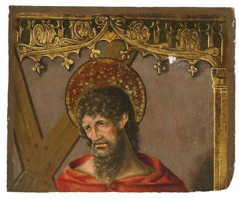 Spanish School, second half 15th Century - SAINT ANDREW