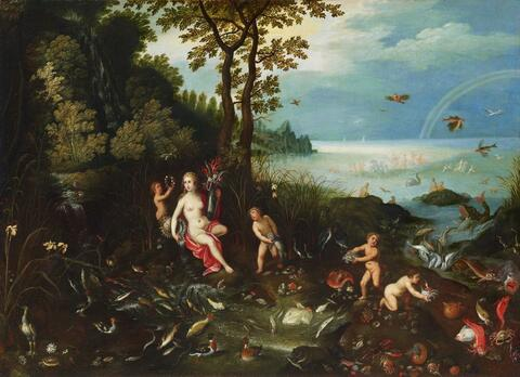 Jan Brueghel the Younger - ALLEGORY OF WATER