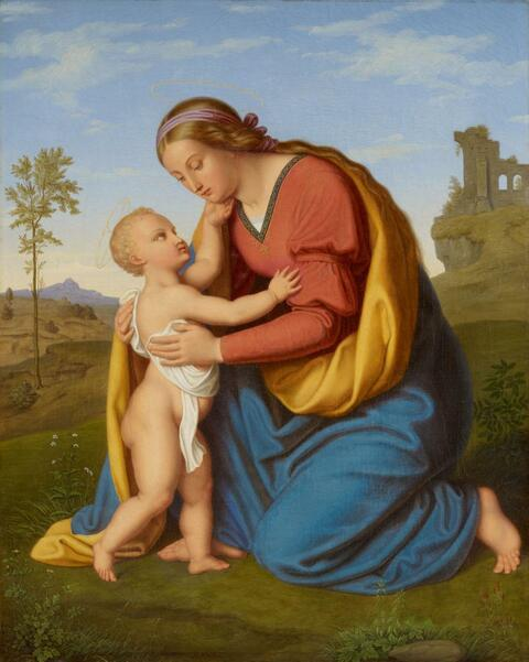Bernhard Endres - THE VIRGIN WITH CHILD