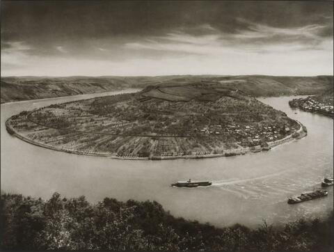 August Sander - Der Rhein bei Boppard