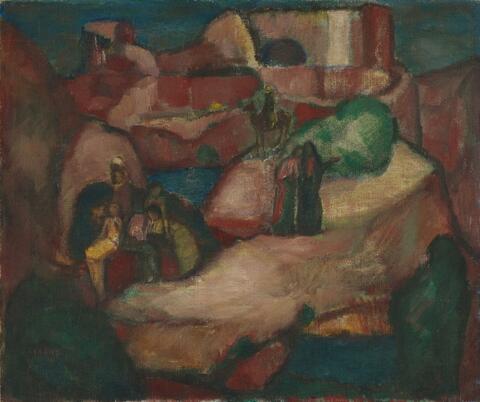 Josef Eberz - Biblische Landschaft