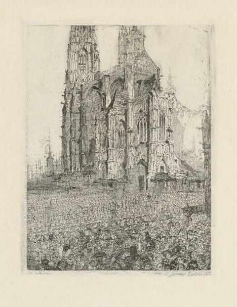James Ensor - La cathédrale