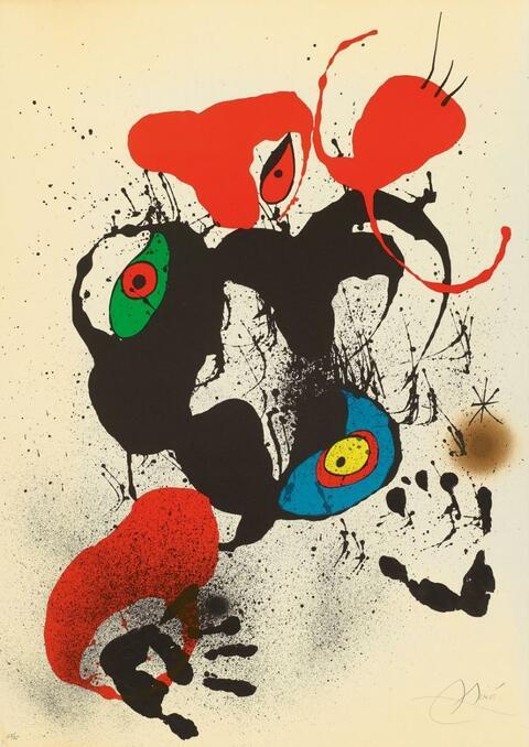 Joan Miró - El Fogainer