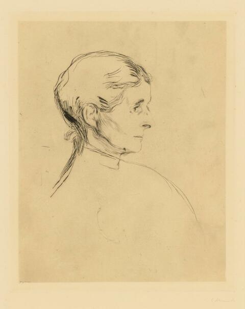 Edvard Munch - Ragnhild Heiberg