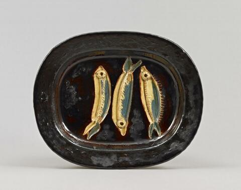 Pablo Picasso - Trois sardines