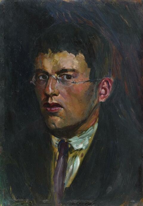 Rudolf Schlichter - Selbstbildnis