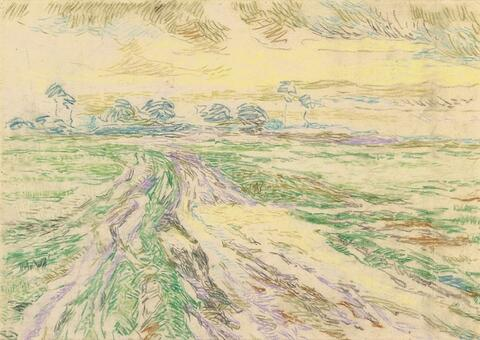 Henry Van De Velde - Kalmthoutse Heide (Chemin en lisière)