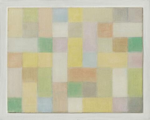 Antonio Calderara - Rettangoli e quadrati