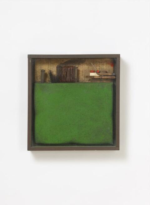 Karl Fred Dahmen - Reduktion einer Landschaft