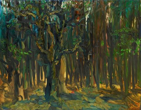 Rainer Fetting - Wald