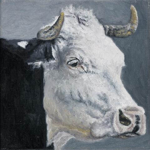 Karin Kneffel - Ohne Titel (Portrait)