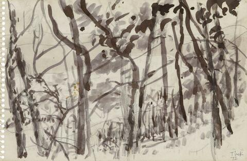 Paul Thek - Schellenberger Wald (Baldeneysee)