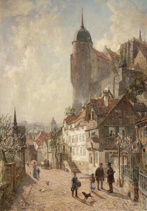 Wilhem Georg Ritter - FRÜHLINGSTAG IN MEISSEN