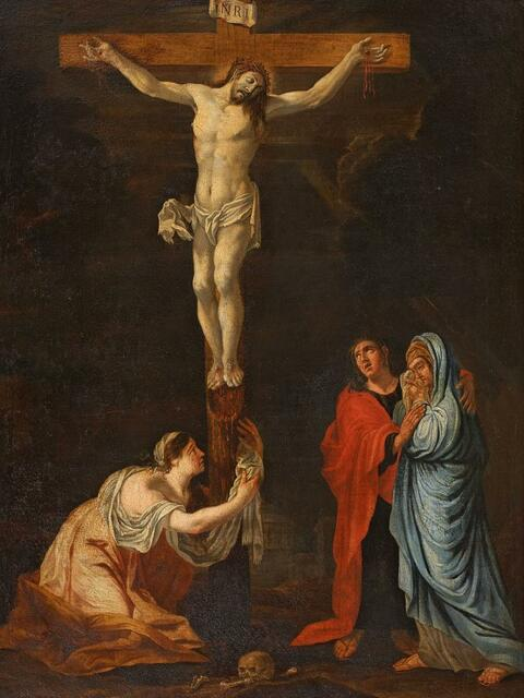 French School - CRUCIFIXION OF CHRIST