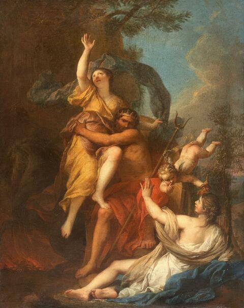 French School - THE RAPE OF PROSERPINA