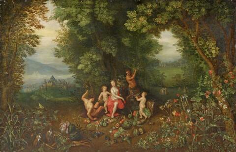 Jan Brueghel d. J. - ALLEGORIE DER ERDE