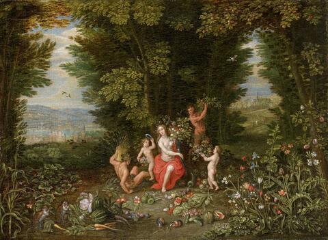 Ferdinand van Kessel - ALLEGORIE DER ERDE