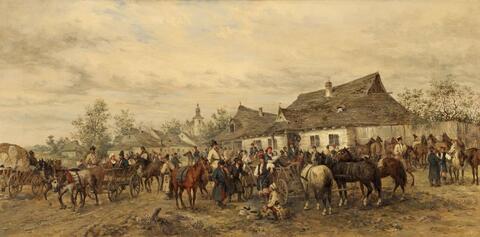Ludwig Gedlek - THE HORSE MARKET