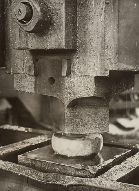 Albert Renger-Patzsch - Untitled (Detail of a Machine)