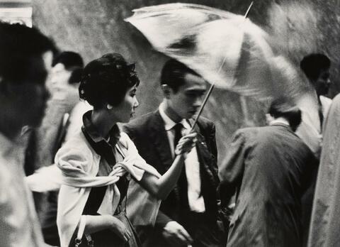 Toni Schneiders - Nachts auf der Ginzon, Tokyo