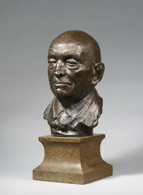 Georg Kolbe - August von Thyssen