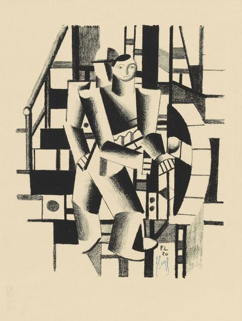 Fernand Léger - Composition aux deux Personnages