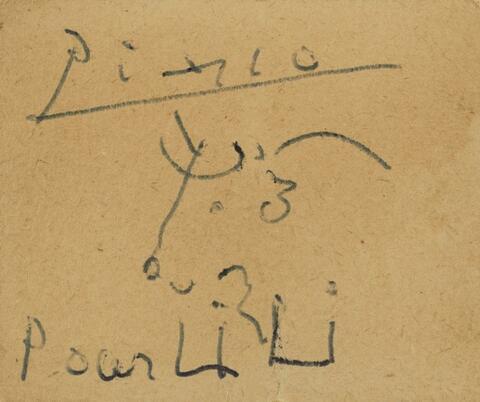 Pablo Picasso - Tête de taureau