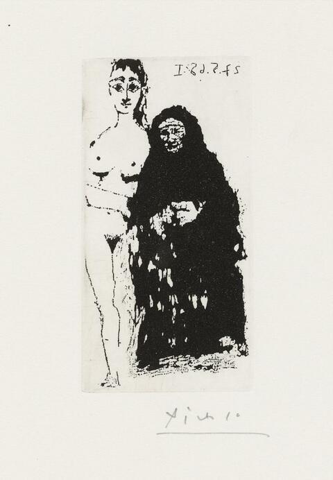 Pablo Picasso - Maja et Célestine