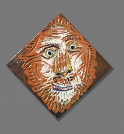 Pablo Picasso - Tête de lion