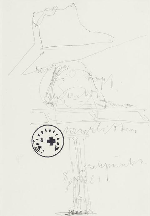 Joseph Beuys - Plan für Aktion