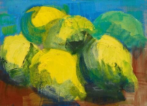 Rainer Fetting - Zitronen