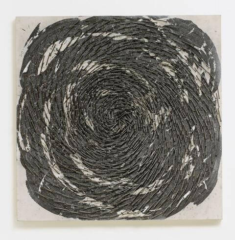 Günther Uecker - Spirale 86