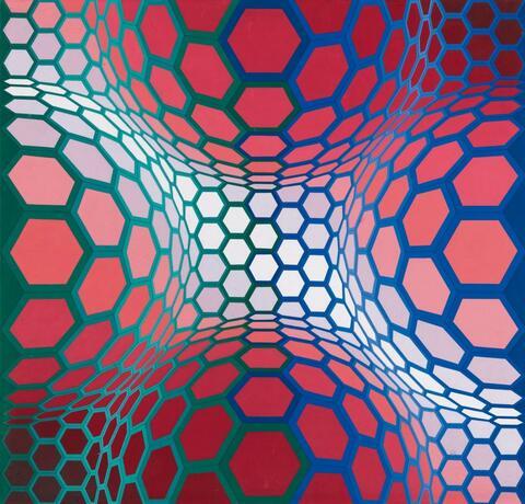 Victor Vasarely - Pillango-2