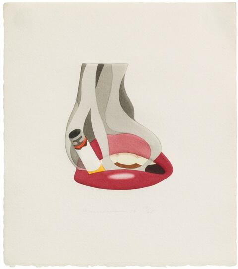 Tom Wesselmann - Embossed smoker