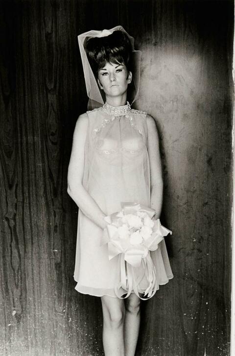 Lee (Norman) Friedlander - Topless Bridesmaid, Los Angeles, California
