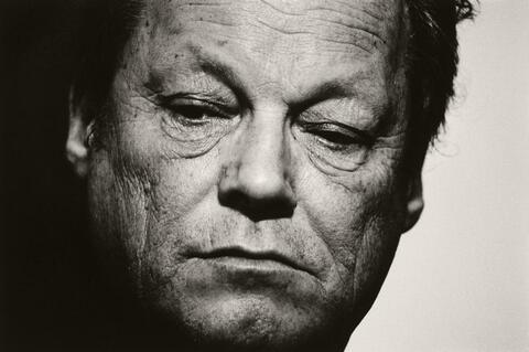 Robert Lebeck - Willy Brandt nach dem Rücktritt, Bonn