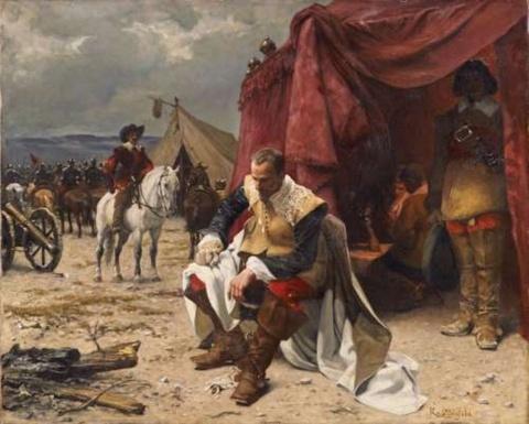 Rudolf Ritter von Ottenfeld - WALLENSTEIN'S CAMP