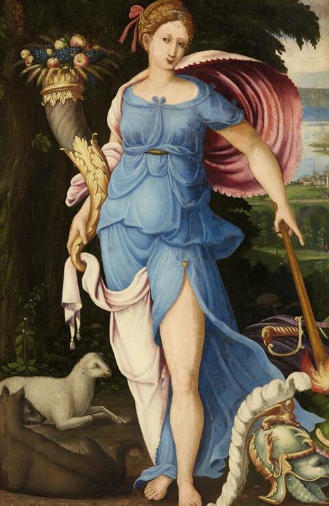 Italienischer Meister des 16. Jahrhunderts - ALLEGORIE DES FRIEDENS