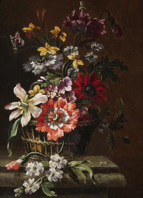 Abraham Brueghel in the manner of - FLORAL STILL LIFE