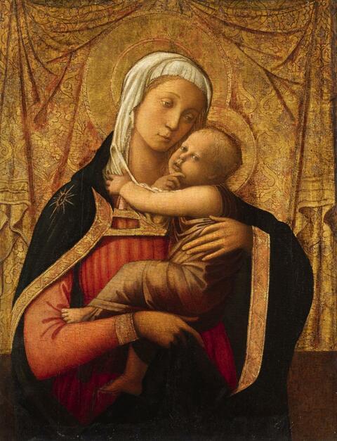 Fra Filippo Lippi - THE VIRGIN WITH CHILD