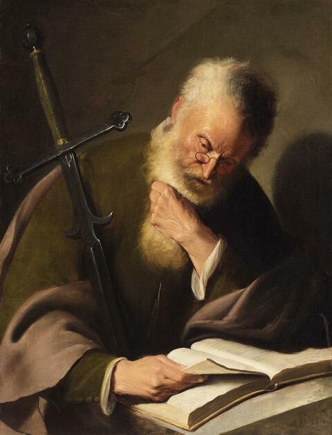 Jacques des Rousseaux - THE APOSTLE PAUL