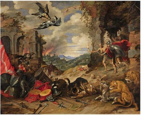 Jan Brueghel the Younger - ALLEGORY OF WAR