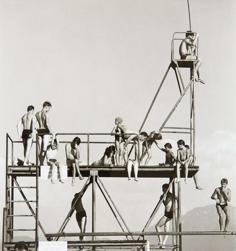 Peter Keetman - Sprungturm