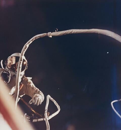 NASA - Eugene A. Cernan, extravehicular activity, Gemini IX