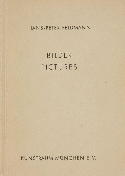 Hans-Peter Feldmann - Bilder. Pictures