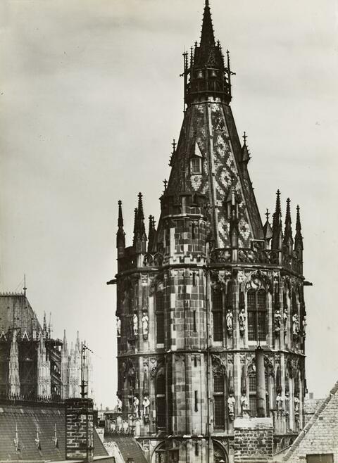 August Sander - Rathausturm