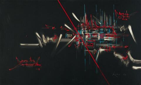 Georges Mathieu - Composition